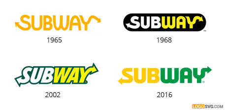 Logo changes over years